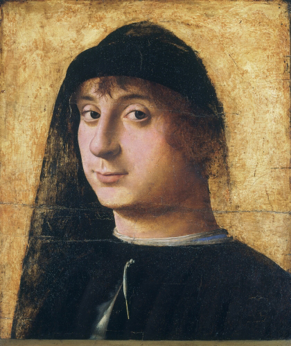 Antonello da Messina (first documented 1456, died 1479, Italy), Portrait of a Young Man, 1465–1475.