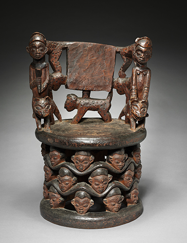 Babanki People, Cameroon, Prestige Chair, late 1800s.