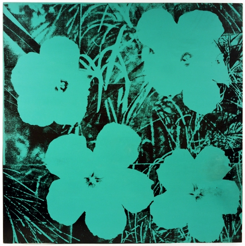 Andy Warhol (1928–1987, US), Ten Foot Flowers, 1967.