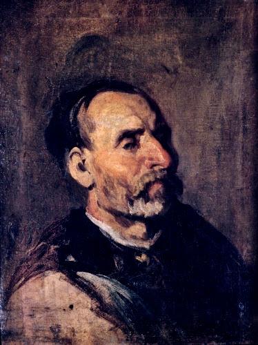 Piotr Michalowski (1800–1855 Poland), Old Man from a Village, ca. 1846–1848.