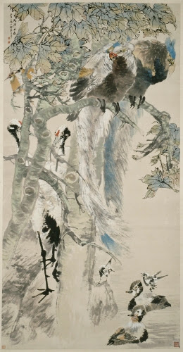 Ren Yi (1840–1895, China), The Five Cardinal Relationships, 1895.