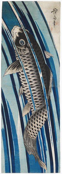 Keisai Eisen(1790–1848),Carp, 1830.