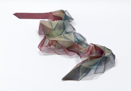 Reiko Sudo,Origami Pleats Scarf, 1997.
