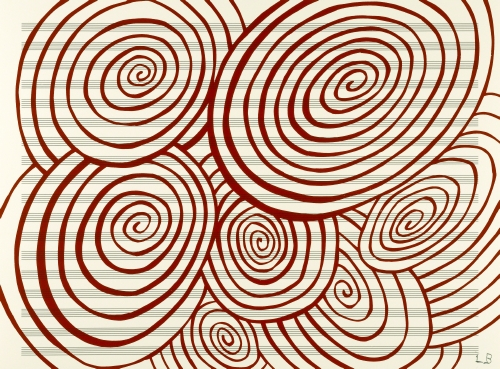 Louise Bourgeois (1911–2010, US, born France), Untitled, from the portfolio Fugue, 2003/2005.
