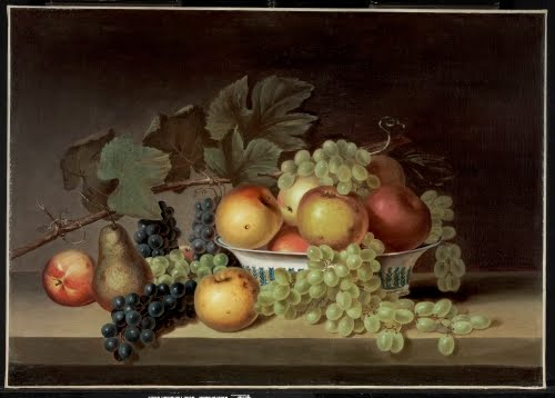 Anna Peale Sellers (1824–1905), Still Life with Fruit after James Peale, ca. 1875.