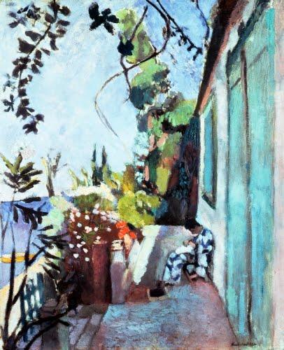 Henri Matisse, The Terrace at Saint-Tropez, 1904.