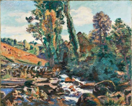 Jean-Baptiste Armand Guillaumin,The Bouchardon Mill, Crozant, ca. 1894.