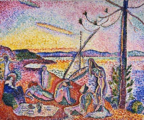 Henri Matisse (1869–1954), Luxe, Calme et Volupté, 1904.