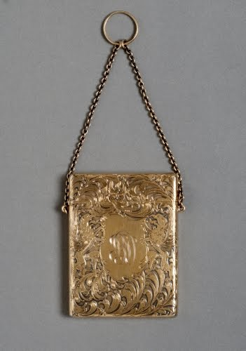 Woods and Chatellier (1899–ca. 1931, New York), Card case, 1890–1910.