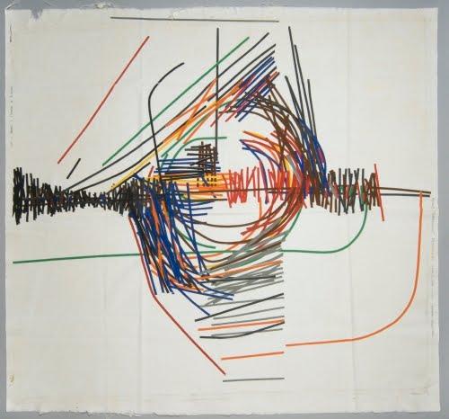 John Plumb (born 1927, Britain) for Heal's (1810 to present, London), Chiricahua textile, 1960–1965.