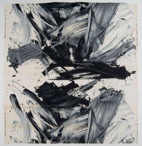 Daan van Golden (born 1936, Netherlands) for Heal's (1810 to present, London), Rhythm textile, ca. 1962–1965.