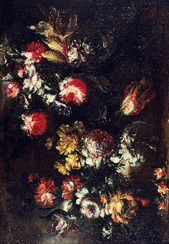 Margherita Caffi (ca. 1650–1710, Italy), Still Life with Flowers, ca. 1680.