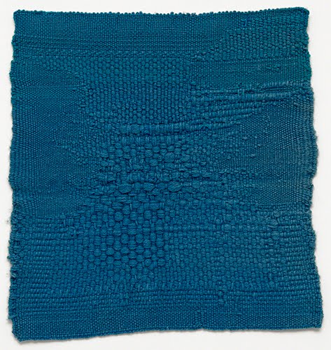 Sheila Hicks, Blue Letter, 1959.