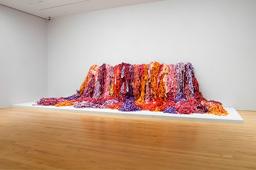 Sheila Hicks, Wow Bush/Turmoil in Full Bloom, 1977.