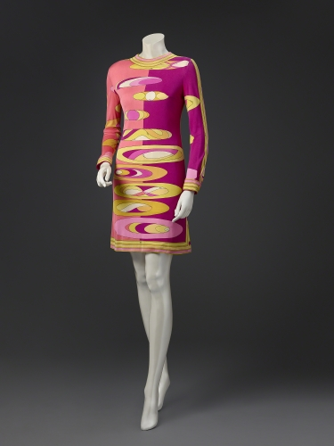 Emilio Pucci (1914–1992, Italy), Dress, late 1960s.