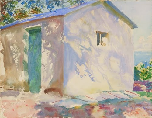 John Singer Sargent, Corfu: Lights and Shadows, 1909.