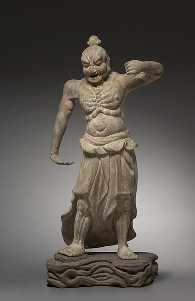 Kamakura Period, Japan, Agyo, Temple Guardian (Nio), from Shiga Province, 1200s.