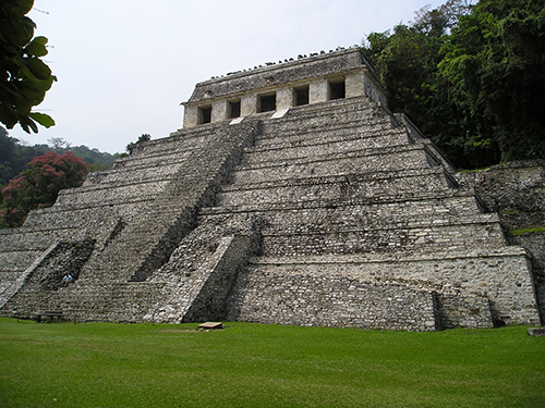Maya Culture, Temple of Inscriptions, Palenque, Mexico, ca. 683–692 CE.