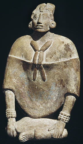 Maya Culture, Seated Female Dignitary, 500–800 CE.