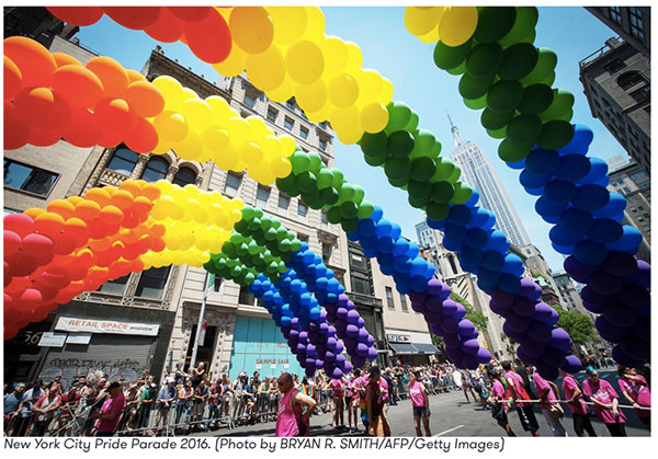 This month is when the most Gay Pride celebrations