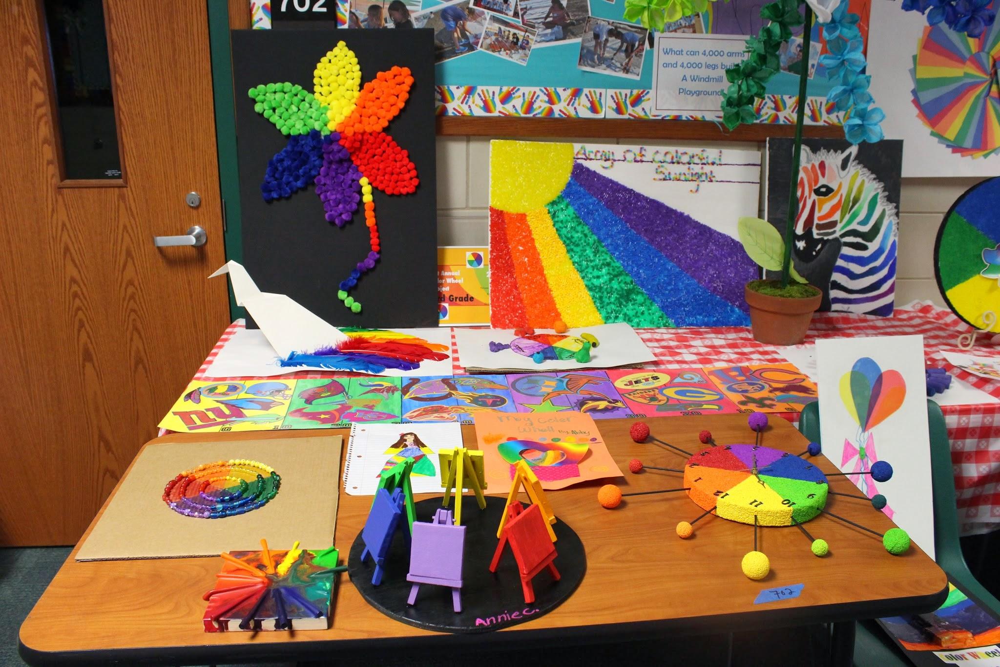 The World Wide Color Wheel Project Davis Publications
