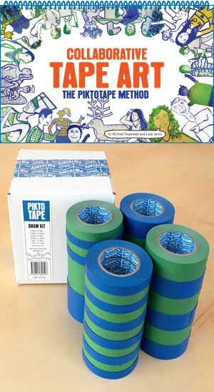 Collaborative Tape Art & DRAW KIT Combo