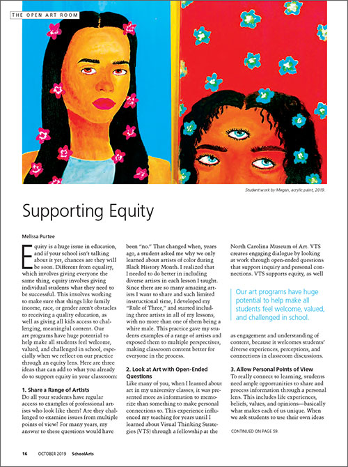 All Levels: Supporting Equity
