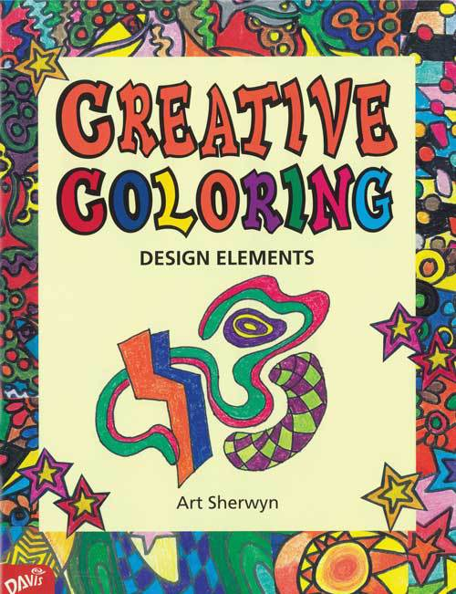Creative Coloring: Design Elements - Middle School