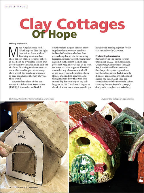 Middle School: Clay Cottages of Hope