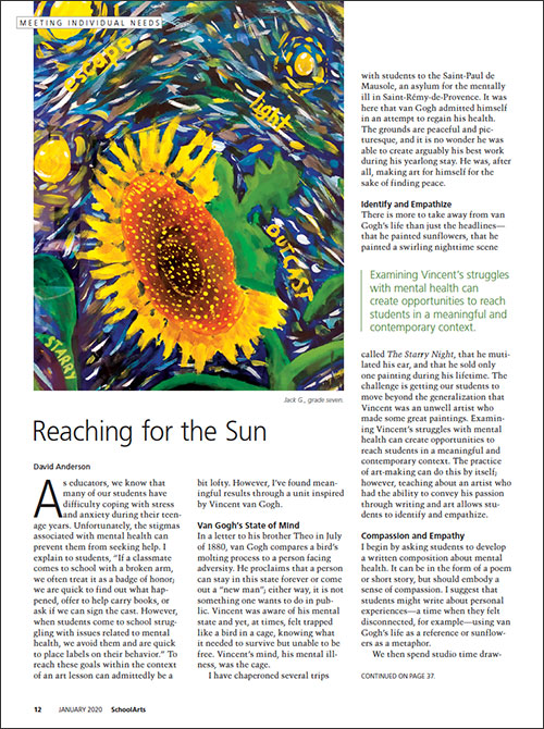 Meeting Individual Needs: Reaching for the Sun