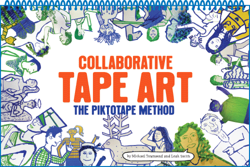 Collaborative Tape Art